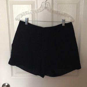 Elle High-Waisted Shorts